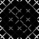 Grid Interface Design Icon