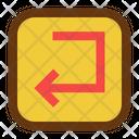 Left Interface Design Icon