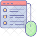 Control Website Web Icon