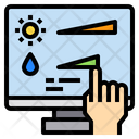 Monitor Control Technology Icon
