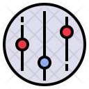 Regulate Control Manage Icon