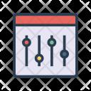 Control Equalizer Adjustment Icon