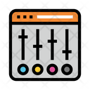 Control Webpage Internet Icon
