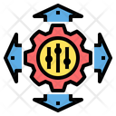Control Direction System Icon