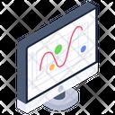 Control Chart Shewhart Chart Process Statistics Icon