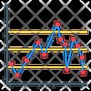 Control Graph Shewhart Chart Cusum Chart Icon