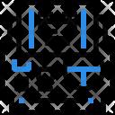 Remote Control Drone Icon