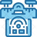 Drone Control Technology Icon