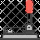 Control Lever Controller Machine Icon