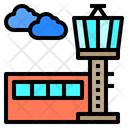 Control Tower Airport Building Icon