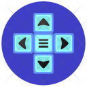 Arrows Menu Control Icon