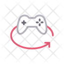 Game Control Rotate Icon