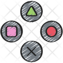 Controller layout Icon