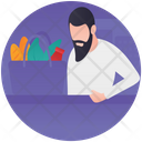 Grocery Shopping Shopping Bag Convenience Store Icon