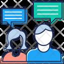 Discussion Conversation Deliberation Icon