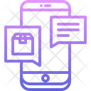 Phone Message Box Icon