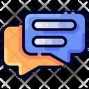 Conversation Chat Discussion Buke Icon