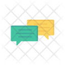 Conversation Bubble Chat Icon