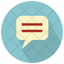 Conversation Bubble Icon