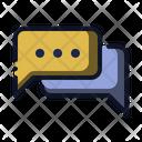 Conversation Chat Bubble Icon