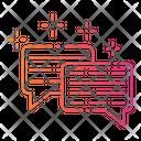 Gradient Communication Conversation Icon