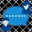 Conversation Cloud Connection Icon
