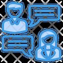Conversation Speech Discussion Icon