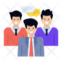Discussion Teammates Colleagues Icon