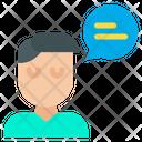 Descuss Interaction Communication Icon