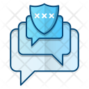 Conversation Security Protection Icon