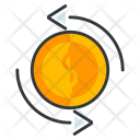 Convertion Marketing Currency Icon