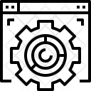 Conversion rate Icon