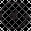 Convert Yen Money Icon