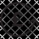 Convert Pound Money Icon