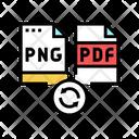 Convert To Pdf Icon