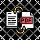 Convert Pdf File Icon