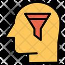 Convert User Human Mind Thinking Icon