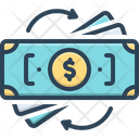 Converted Transformed Currency Icon