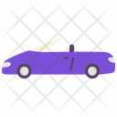 Convertible Car Transport Icon