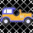 Convertible Jeep Icon