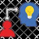 Convey Fetch Generate Idea Icon