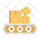 Conveyer Belt Delivery Box Boxes Icon