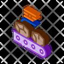 Coal Stock Mining Icon