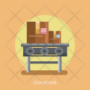 Conveyor Delivery Cargo Icon