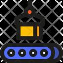 Conveyor Belt Package Icon