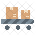 Conveyor Roller Parcel Icon