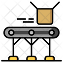 Conveyor Boxing Box Icon
