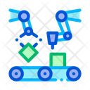 Gathering Artificial Conveyor Icon
