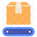 Conveyor Belt Logistics Icon