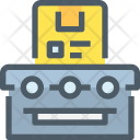 Conveyor Parcel Package Icon